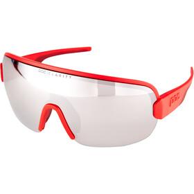 POC Aim Gafas de Sol, rojo/Plateado